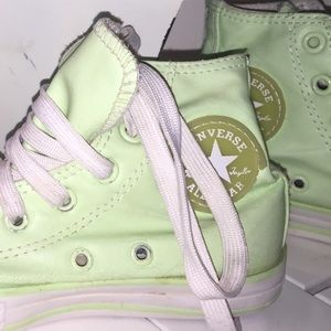 Converse Shoes - Girls Neon Converse Sneakers